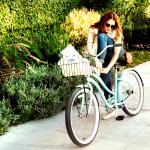 Complimentary beach cruiser bikes