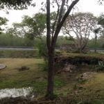 jardín anterior
