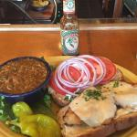 Best Chicken sandwich in Seattle!! Gumbo is pretty good also!!