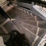 una delle tante scale