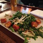 Fried Halloumi salad