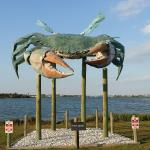 Giant Crab statue