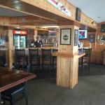 View of the inside bar