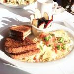Farmer's omelette (veggie)