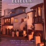 Menu for Eliella's Ristorante