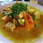 Kare (curry) with lots of vegetables