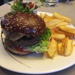 Sud ouest burger with foie gras in it! Amazing!