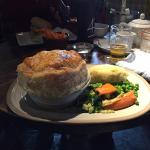 Beef and ale pie - nice pastry overall