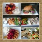 just some of the food we serve