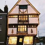 The Crooked House in the Borough, King's Mile, Canterbury