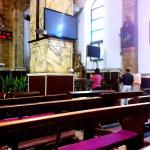 South Cathedral TV screens