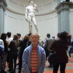 Accademia Gallery with tour guide Chiara Mallardi - exceptional!