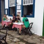 mesas na rua