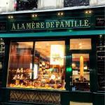 Devanture de la boutique ayant ouverture dans le Marais, rue Rambuteau