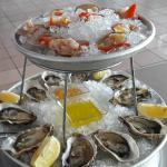 Fresh Oysters and Clams