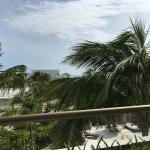 Can you see the water from our oceanfront room in building 9? Neither could we.