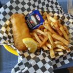 Best fish and chips in Baddeck!