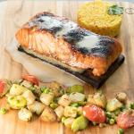 Salmon Planked