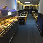 Tandoor India dining room with lunch buffet and dinner buffet