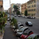 Overlooking Via della Giuliana with the Vatican in back of picture.Busses 23 and 70 stop in fron