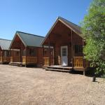 Outside view of Cabins