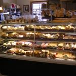 Fresh daily pastry selection - to die for!