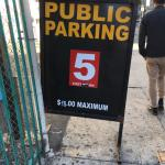 Read the fine print; it's not $5 to park