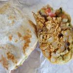 Carnitas California Burrito