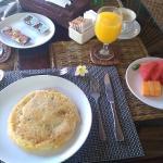 in room breakfast.