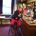 The bar....