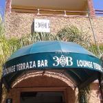 entrada al hostel
