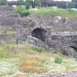 Pic of the ruins in Pompeii