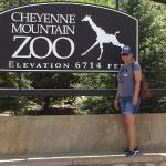minutes from Cheyenne Mountain Zoo. Go feed the giraffes