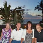 Our group after dining oudtside on final night.