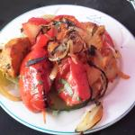 Chicken Shashlik starter was very tasty at Mughal (20/May/16).