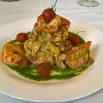 Tagliatelle mari e monti all'Hotel Bar Ristorante Everest Arco