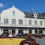 Zicht op Antjes brasserie hotel inclusief terras