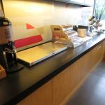 Aloft Arundel Mills hotel - breakfast area