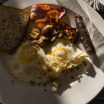 Copious breakfast.