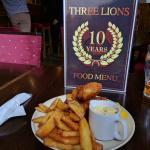 Bilde fra Three Lions English Pub