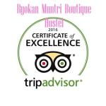 #Tripadvisor Certificate of Excellence 2016  5 years in a row