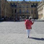 Me at Versailles in Paris, France