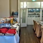 Buffet breakfast room
