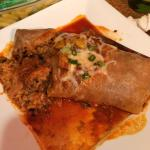 Lamb and beef Brito, enchilada delicious!!!!