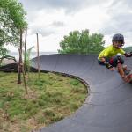 The Skate ramp at Surf Dojo / Eco Venao. An amazing place for kids to learn to surf