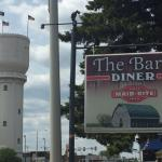 Diner's sign with Brainerd Water Tower in the Background