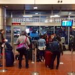 Boston Bus Terminal - Gate for the Bolt bus