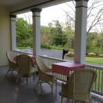 Relax on our wraparound porch and watch the world go by