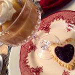Valentine's Day Breakfast first course