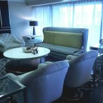 Club lounge at the Sheraton Mission Valley SD